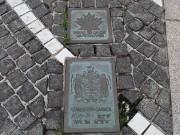 開港記念広場の記念碑