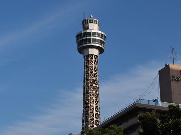 昼のマリンタワー