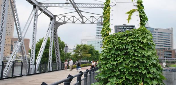 アメリカ製クーパー型トラス橋
