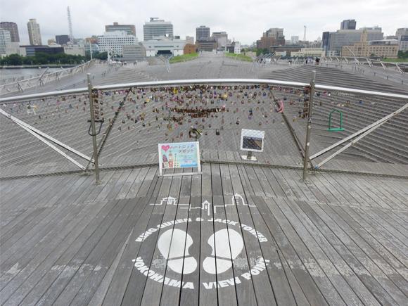 横浜三塔が見えるスポット