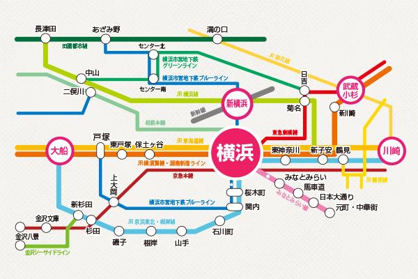 図 路線 横浜 線
